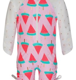 Snapper Rock Snapper Rock Long Sleeve One Piece Sunsuit