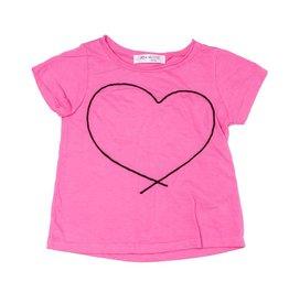 Joah Love Joah Love Lourdes Black Heart Cording Top