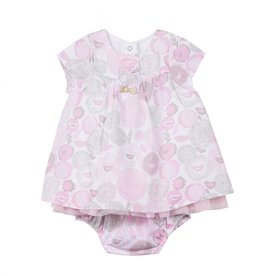 3 pommes 3 Pommes Dress and Bloomer Set