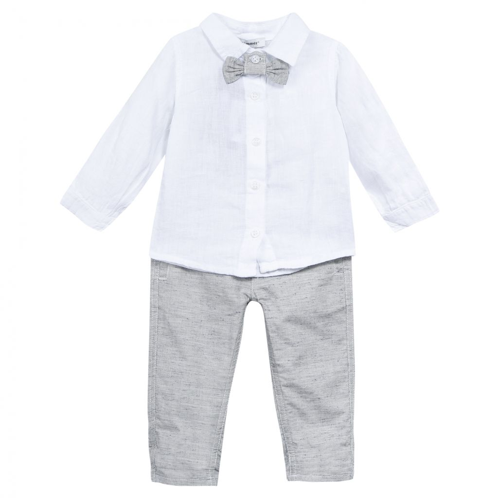 3 pommes 3 Pommes Bowtie, Top and Pant Set