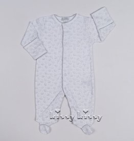 kissy kissy Kissy Kissy Ele-fun Print Footie *more colors*