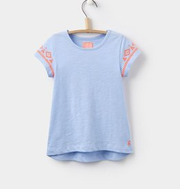 Joules Joules Corita Embroidered Jersey Top