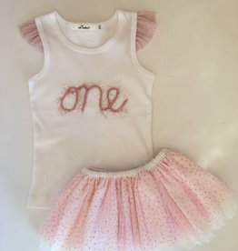 Oh Baby Oh Baby One Year Tank & Tutu Set