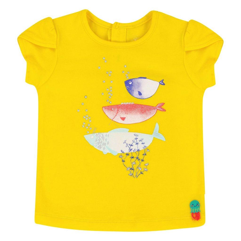 deux par deux Deux Par Deux Bubblely Fish T-Shirt