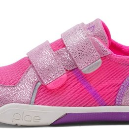 Plae Plae Ty Shimmery Suede & Mesh Sneaker