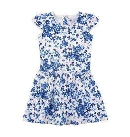 Petit Bateau Petit Bateau Short Sleeve Printed Dress