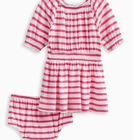Splendid Splendid Off the Shoulder Stripe Dress and Bloomer