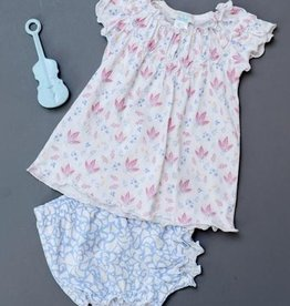 Feather Baby Feather Baby Ruched Tunic and Bloomer