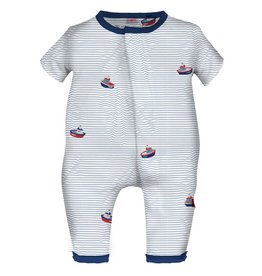 Magnificent Baby Magnificent Baby Ocean Union Suit