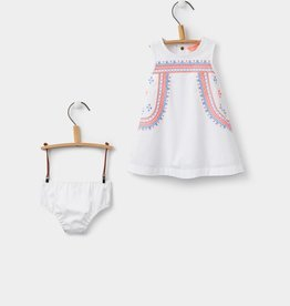 Joules Joules Woven Dress and Bloomer Set