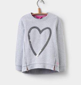 Joules Joules Heart Sweatshirt