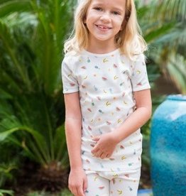 Skylar Luna Skylar Luna Organic Cotton Fruits Short Sleeve Pajamas