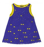 deux par deux Deux Par Deux Blue Lagoon Tiny Fishes Dress