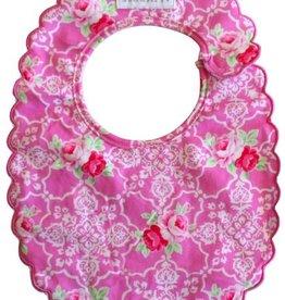 Alimrose Alimrose Scallop Bib Pink Rose