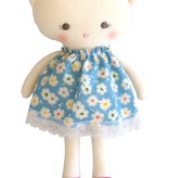 Alimrose Alimrose Kitty Doll Blue Floral