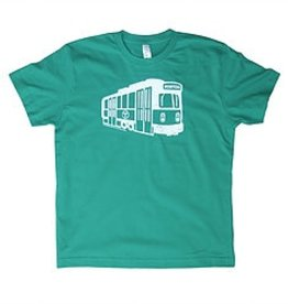 Sidetrack Sidetrack Green Line Short Sleeve Tee  Shirt