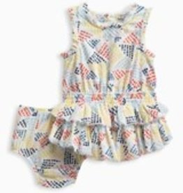 Splendid Splendid Baby Allover Print Dress with Bloomers