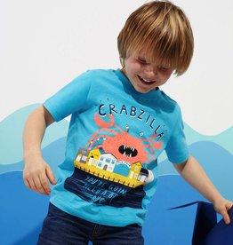 Joules Joules Ben Crab Print T-Shirt