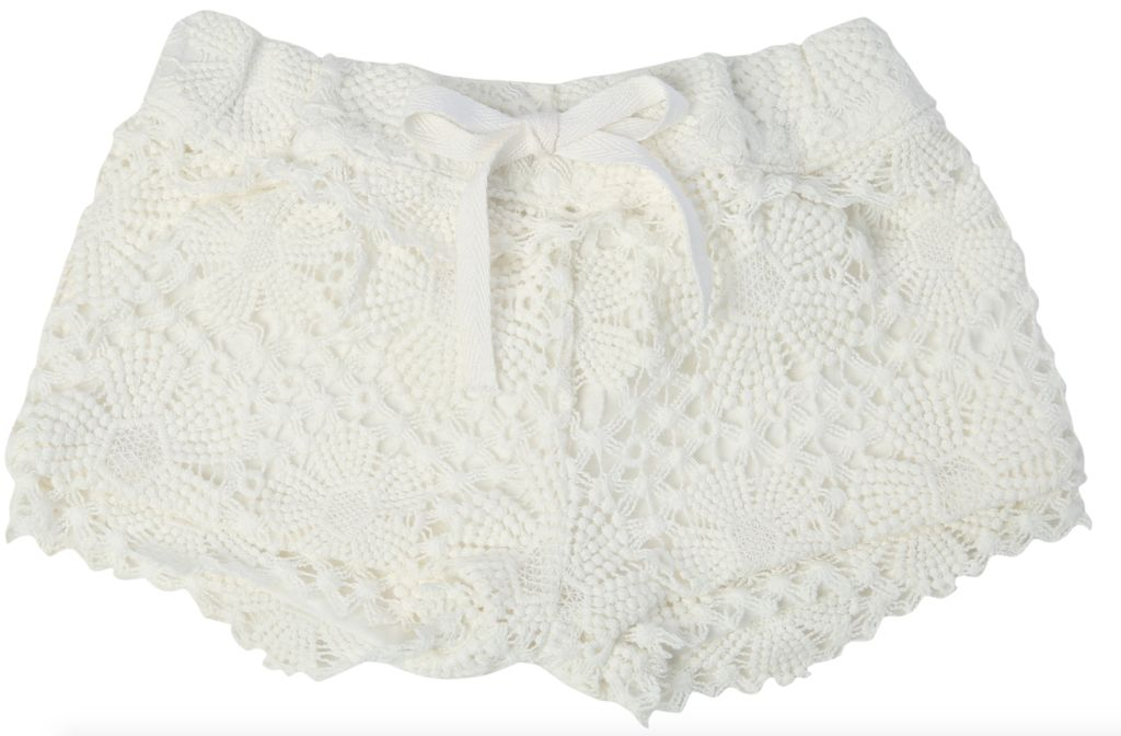 Egg Egg Terri Crochet Shorts