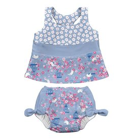 i play i play Songbird Bow Tankini Set with Swim Diaper