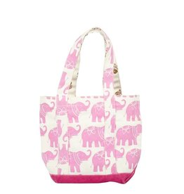 Pink Chicken Pink Chicken Small Elephant Tote Bag