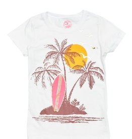 Pink Chicken Pink Chicken Surfboard Graphic Tee