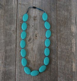 Summer Lulu Summer Lulu Oval Teething Necklace
