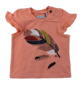 ikks IKKS Short Sleeve Sequin Feather Tee