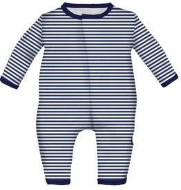 Magnificent Baby Magnificent Baby Blueprint Stripe Coverall