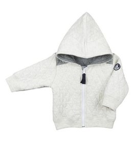 Petit Bateau Petit Bateau Zip-Up Hooded Sweatshirt and Sweatpants Set