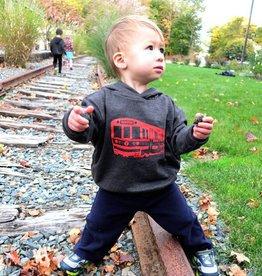 Sidetrack Sidetrack Red Line Hoodie