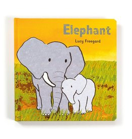JellyCat Jelly Cat Elephant Book