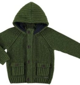 Mayoral Mayoral Knit Hooded Sweater