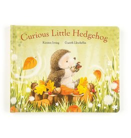 JellyCat Jelly Cat Curious Little Hedgehog Book