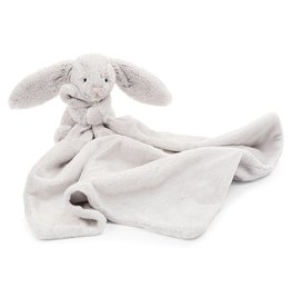 JellyCat Jelly Cat Bashful Grey Bunny Soother