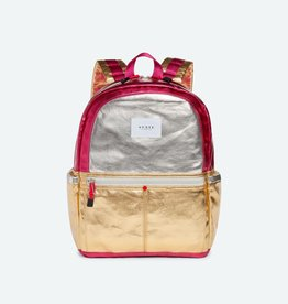 State State Kane Backpack- Silver/Rose Gold