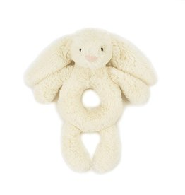 JellyCat Jelly Cat Bashful Cream Bunny Ring Rattle