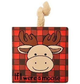 JellyCat Jelly Cat if I were a Moose Book