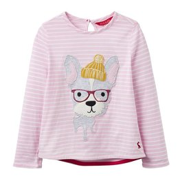 Joules Joules French Bulldog Applique Top