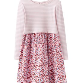 Joules Joules Heart Mix Print Dress