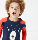 Joules Joules Applique Bear Top