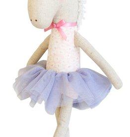 Alimrose Alimrose Yvette Unicorn Doll- Pink & Silver