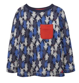 Joules Joules Printed Waffle Top