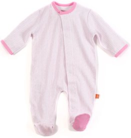 Magnificent Baby Magnificent Baby Girl Herringbone Footie