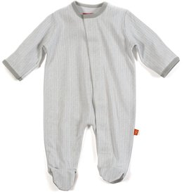 Magnificent Baby Magnificent Baby Herringbone Footie