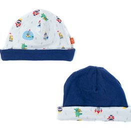 Magnificent Baby Magnificent Baby Boy Good Knight Reversible Hat