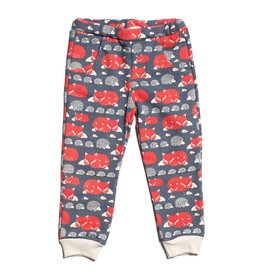 Winter Water Factory Winter Water Factory Sweatpants- Foxes & Hedgehogs