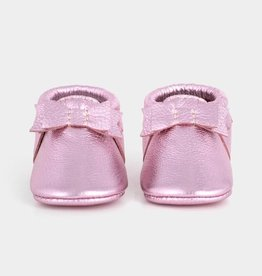 Freshly Picked Freshly Picked Frosted Rose Bow Moccasin