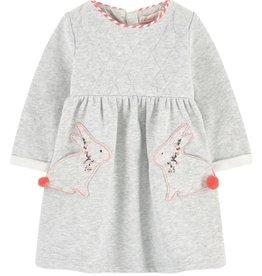 Billieblush Billieblush Sweater Dress with Rabbit