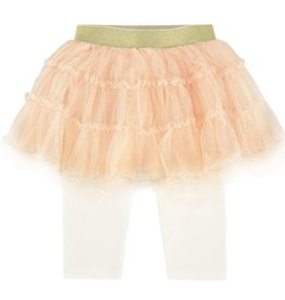 Billieblush Billieblush Tulle Skirt with Attached Leggings